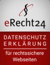 eRecht24 Siegel Datenschutz